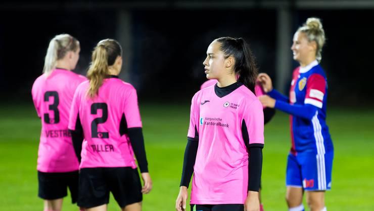 Fünf Spiele, fünf Niederlagen: Die FC Aarau Frauen warten weiter auf Punkte.