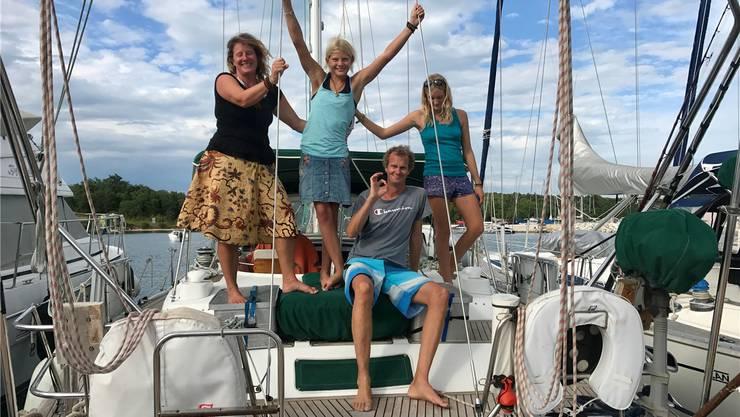 «Elas» war während dreier Jahre Heimat und Reiseschiff der Familie Kaufmann.
