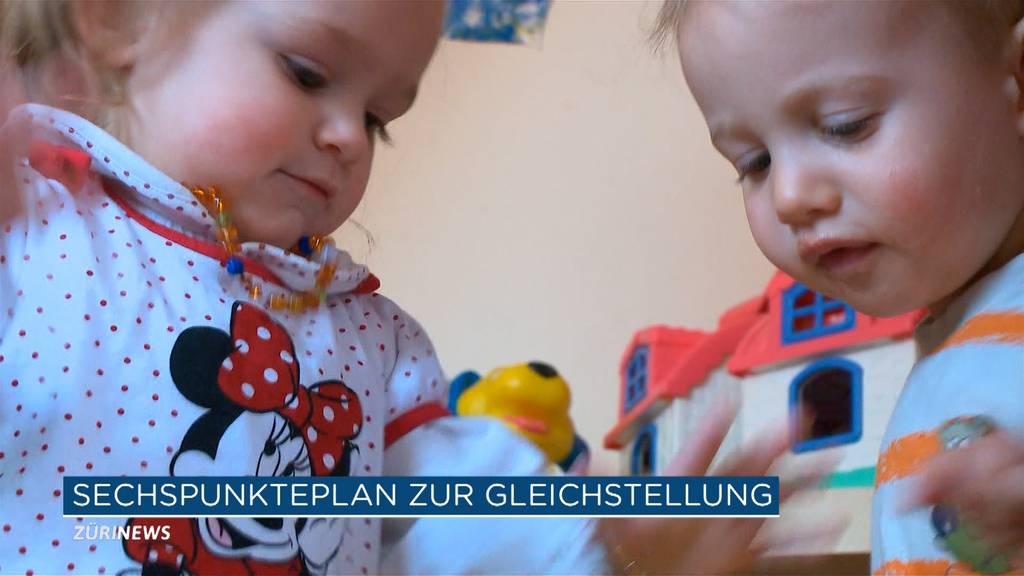 Punkte-Plan der SP für Gleichstellung in der Schweiz