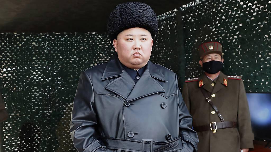 Südkorea: Nordkorea feuert erneut Projektile ab