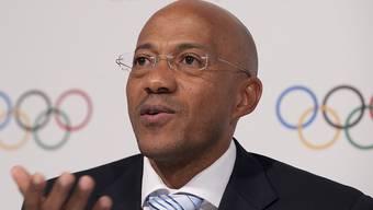 Der frühere Weltklasse-Sprinter Frankie Fredericks aus Namibia war seit 2014 IOC-Mitglied