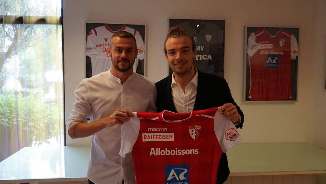 Ivan Martic Vorstellung FC Sion