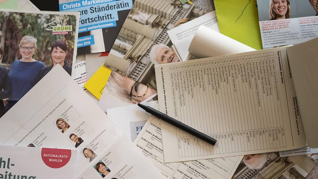 Am Sonntag finden die National- und Ständeratswahlen statt. (Archivbild)