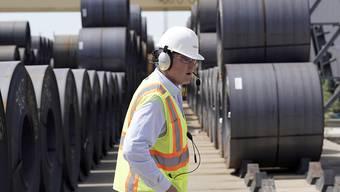Die USA heben die Strafzölle auf chinesische Importwarte wie etwa Stahl ab Oktober um weitere 5 auf 30 Prozent an. (Symbolbild)