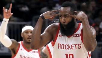 Houstons Superstar James Harden im Element