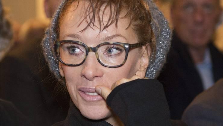Sibylle Berg war 2012 mit ihrem letzten Roman für den Schweizer Buchpreis 2012 nominiert. Nun kommt sie wieder nach Basel, um aus ihrem neuen Roman «Der Tag, als meine Frau einen Mann fand» zu lesen. Mit Musik. Georgios Kefalas/Keystone
