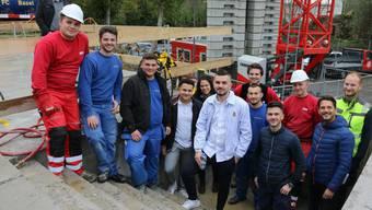 Die Waser AG lässt am Standort in Rheinfelden ein Betriebsgebäude ausschliesslich von Lehrlingen erstellen.