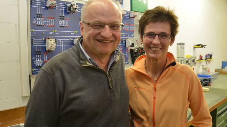 Sie investieren in die Zukunft: Hermann und Barbara Bütler bauen ein Minergie-A-Gewerbehaus. ES