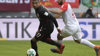Für Kevin-Prince Boateng und Eintracht Frankfurt endete in Augsburg die positive Auswärtsserie