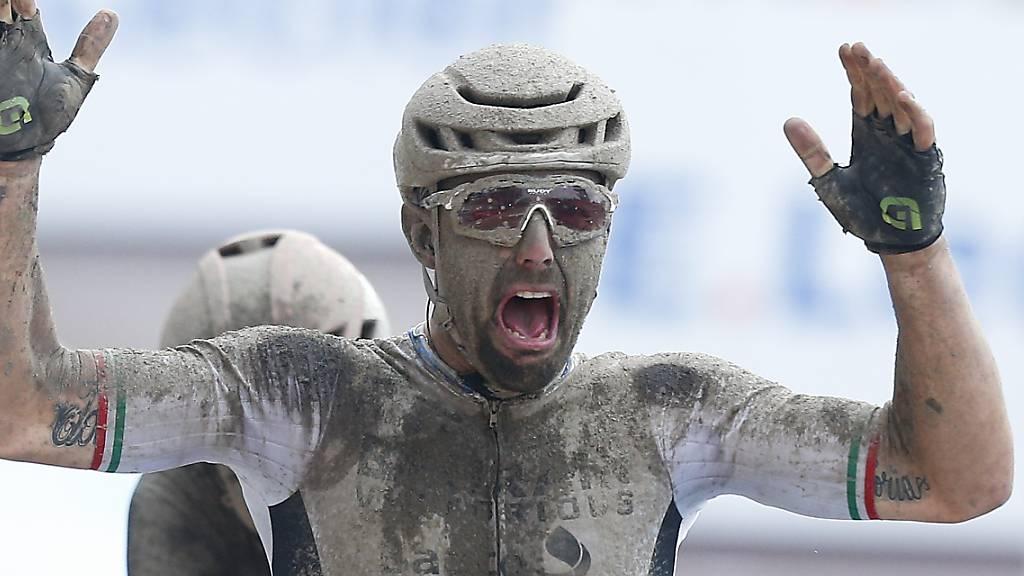 Europameister Colbrelli gewinnt Schlammschlacht von Roubaix