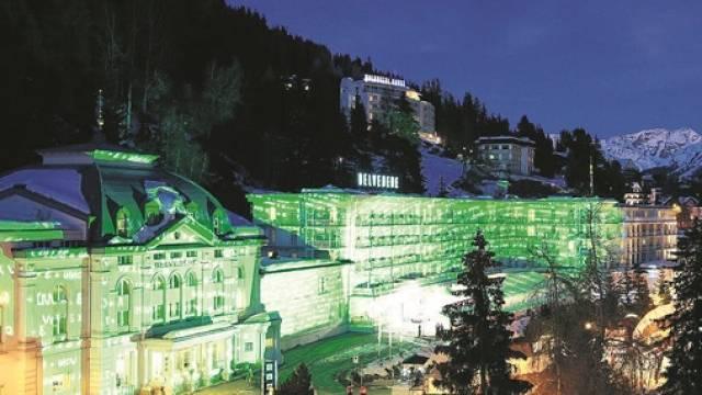 Im Belvédère nächtigen während des WEF in Davos Wirtschafts- und Politgrössen aus aller Welt.  Foto: Marcel Giger - snow-world.ch