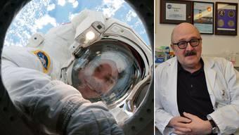 Hanspeter Killer, Chefarzt im Kantonsspital Aarau, erforscht die Sehnerven von Schafen und Menschen. So bestimmt er mit, wer dereinst für die Nasa auf den Mars fliegen soll.