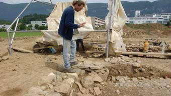 An der römischen Villa wurde in mehreren Etappen gegraben. Foto: Oliver Menge
