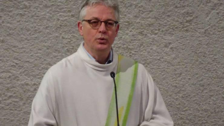 Die Pfarrei Aarau hat Burghard Förster mit einem feierlichen Gottesdienst willkommen geheissen