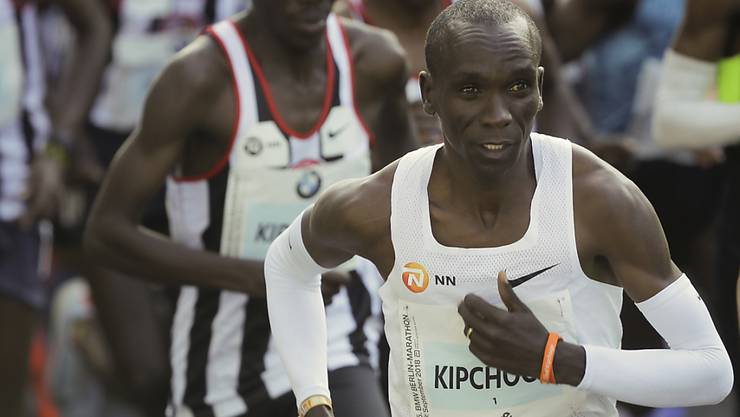 Eliud Kipchoge lief in Berlin zu einem Marathon-Weltrekord