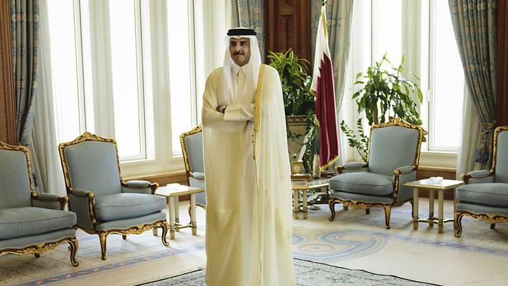 Katar isoliert: Das Land von Emir Tamim bin Hamad Al-Thani soll Lösegelder an eine Terrorgruppe bezahlt haben. (Archivbild)