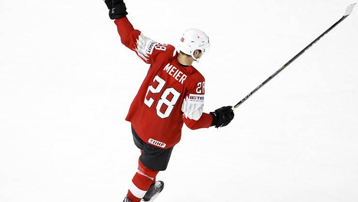 Timo Meier und die anderen Schweizer NHL-Söldner werden für die Schweizer WM-Teams zunehmend wichtiger