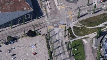 Das Bremsmanöver ereignete sich an der Kreuzung: Wallisellenstrasse/Thurgauerstrasse