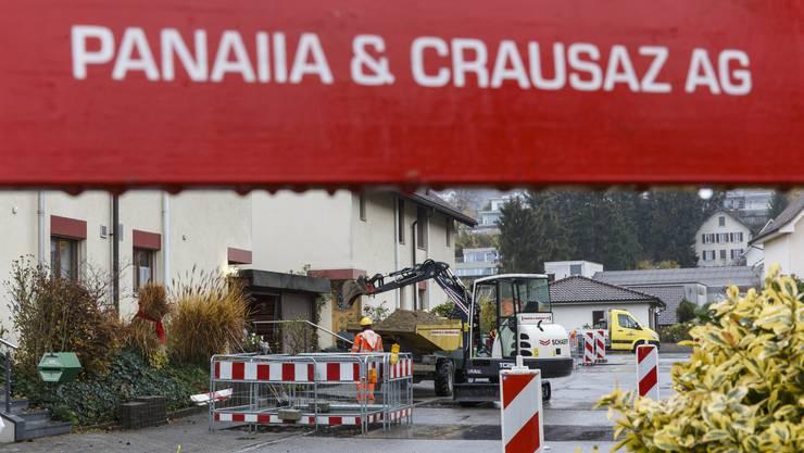 Die SWG hat im Jahr 2013 die Baufirma Panaiia & Crausaz (P&C) erworben. (Archivbild)