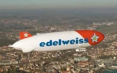 Mit dem Edelweiss Zeppelin unterwegs
