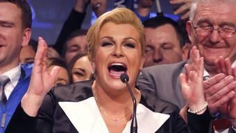 Perfekt und clever: Kolinda Grabar Kitarovic.