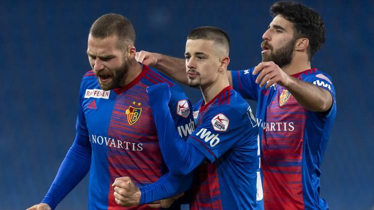 Der FCB erkämpft sich gegen Servette einen knappen Sieg.
