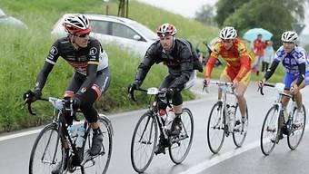 Fabian Cancellara stieg in der Schlussetappe nach 126 km aus.