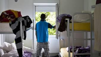 Bisher hat der Kanton kein grosses Asylzentrum – viele Flüchtlinge leben noch in Gemeindeunterkünften.