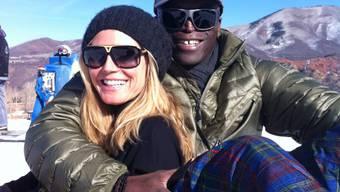 Dieses Bild postete Heidi Klum am 26. Dezember 2011 auf Facebook. Drei Wochen später kommunizerte sie die Trennung.