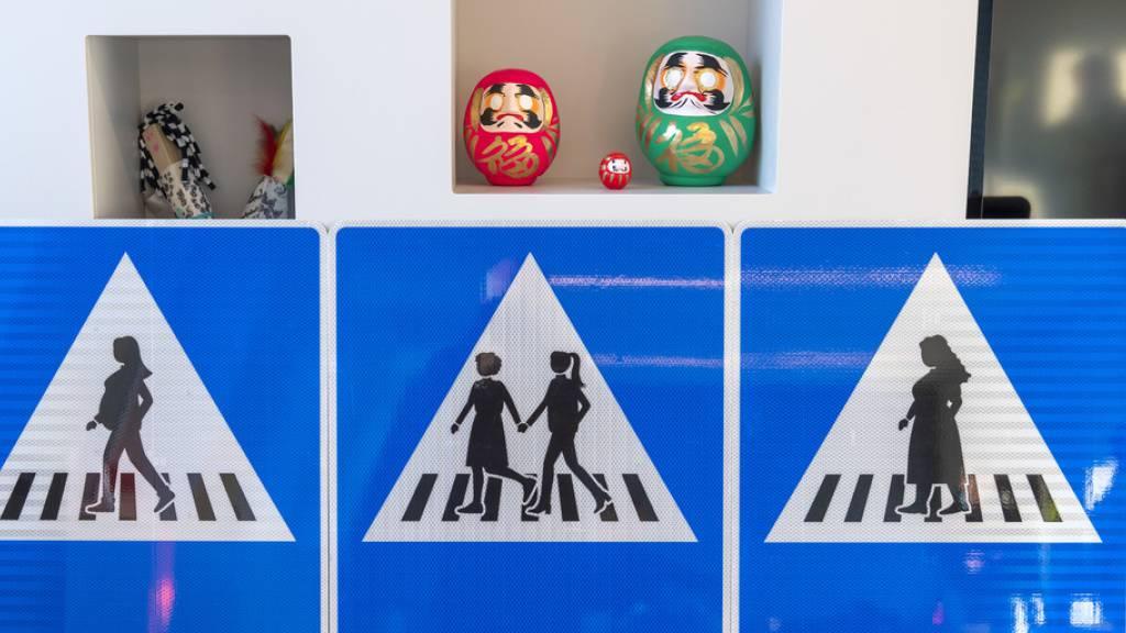 Genf schafft Gleichberechtigung auf Verkehrsschildern
