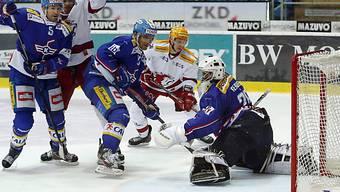 Lausanne scheiterte wiederholt an Kloten-Goalie Martin Gerber