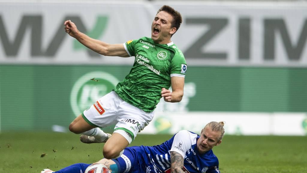 Unentschieden: St.Gallen und Luzern trennen sich 2:2