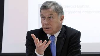 Economiesuisse-Präsident Gerold Bührer (Archiv)