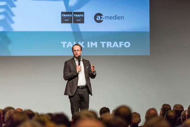Der österreichische Humangenetiker Markus Hengstschläger tritt am Talk im Trafo vom 15. Januar 2018 auf.