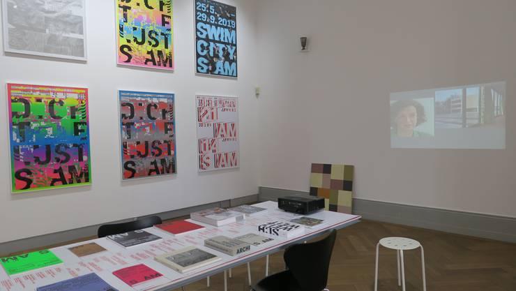 Fein säuberlich aufgelistet: die Ausstellungen des Schweizerischen Architekturmuseums. (zvg)