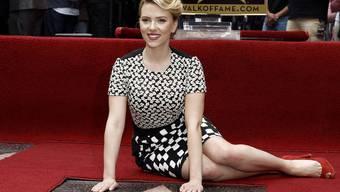 Ein Stern für Scarlett Johansson