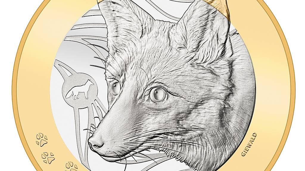 Friedrich Dürrenmatt und ein Fuchs zieren die neuen Sondermünzen