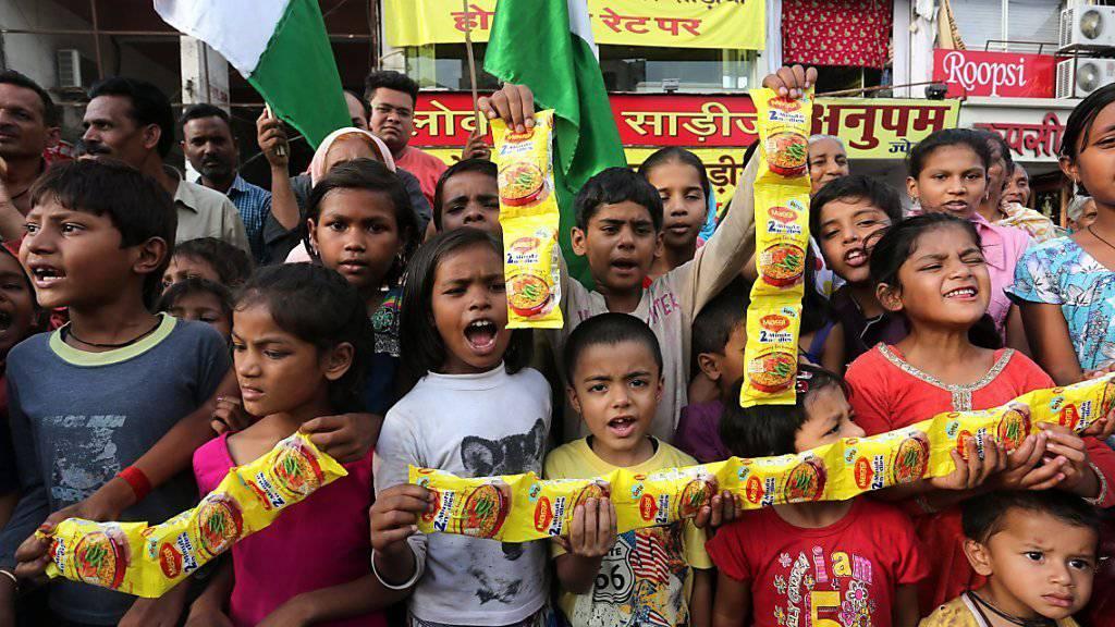 Die Diskussionen um zu viel Blei in den Fertignudeln hat Nestlé in Indien zugesetzt. (Archivbild).