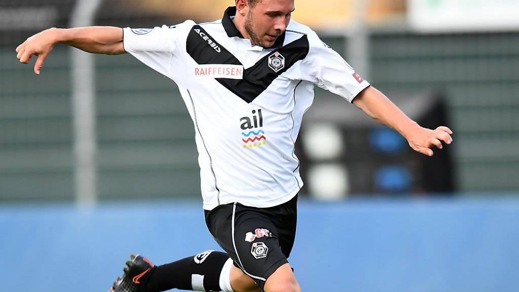 Silvano Schäppi wechselt innerhalb der Super League leihweise bis Ende Dezember von Lugano zum FC Thun.