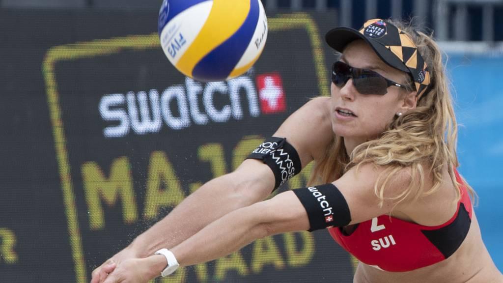 Schweizer Beachvolleyballer weiter auf Kurs
