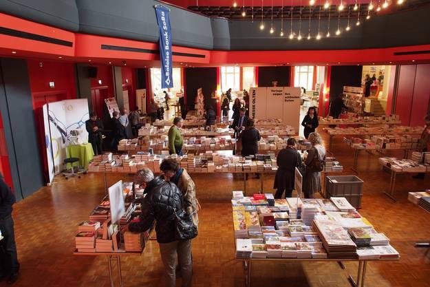 Die Buchmesse findet noch bis am 3. November statt