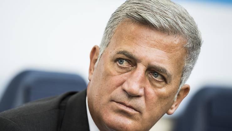 Nationalcoach Vladimir Petkovic beurteilte das 1:1 in Spanien durchaus kritisch