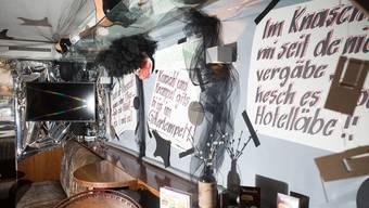Fasnächtliche Schaufenster in Solothurn: Die Beizen