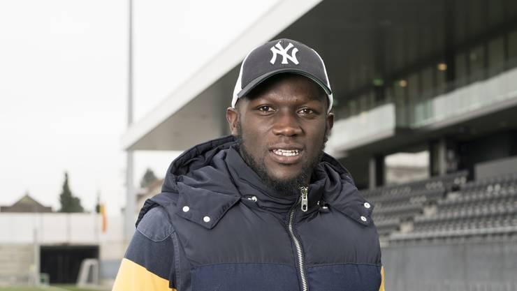 Igor Nganga ist mit dem FC Wil zu Gast im Brügglifeld.