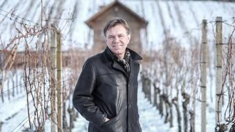 Will E-Fahrzeuge auch auf seinem Weingut einsetzen: CVP-Grossrat Andreas Meier aus Würenlingen. Archiv