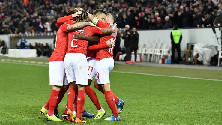 Im November 2018 besiegte die Schweizer Nationalmannschaft Belgien furios mit 5:2 und verdiente sich damit die Teilnahme am Final Four der Nations League.