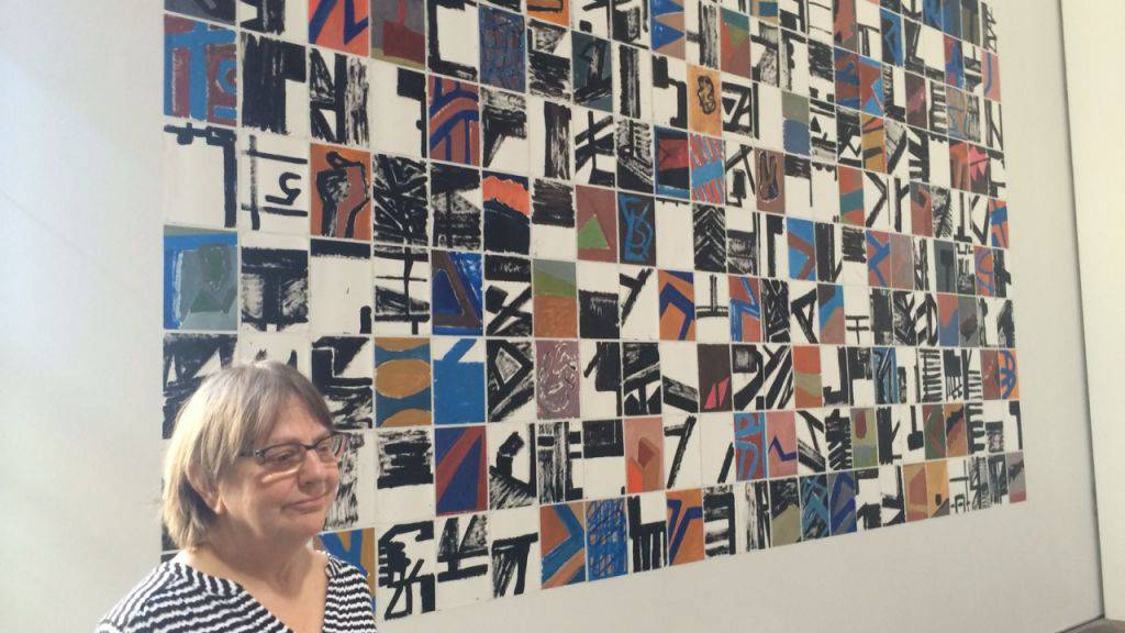 Phyllida Barlow zeigt in der Lokremise St. Gallen zum ersten Mal eine Gesamtshow ihrer Plastiken.