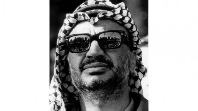Palästinenserführer Yassir Arafat (undatierte Aufnahme).  Foto: Keystone