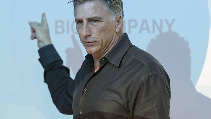 Bracken Darrell ist der Chef von Logitech (Archivbild).