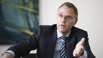 Polizeikommandant Gerhard Lips: «Wenn ständig Negativschlagzeilen zu lesen sind, mache ich mir sehr wohl Sorgen.»